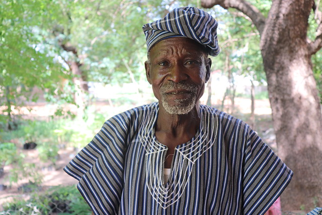 Martin Seguri, one of the farmers working with Africa RISING in Nyangua Community in Upper East Region, Northern Ghana. Photo credit: Wilhelmina Ofori-Duah-Duah/IITA.