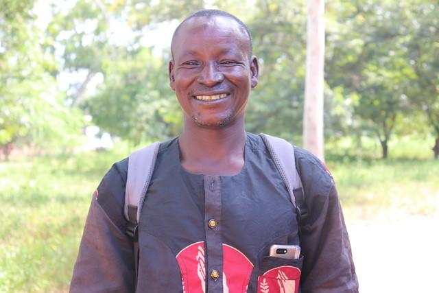 David Adugdaa one of the farmers working with Africa RISING in Samboligo Community in Upper East Region, Northern Ghana. Photo credit: Wilhelmina Ofori-Duah-Duah/IITA.