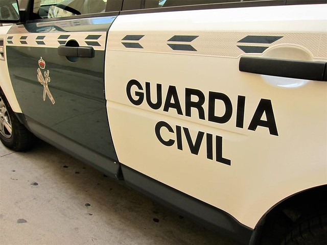 Vehiculo de la Guardia Civil