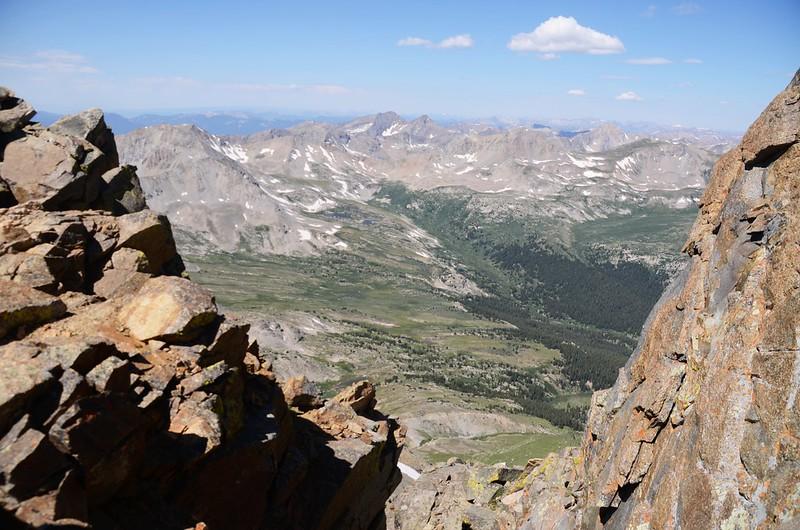 Taken from the ridge just below Mt. Harvard's summit (4)