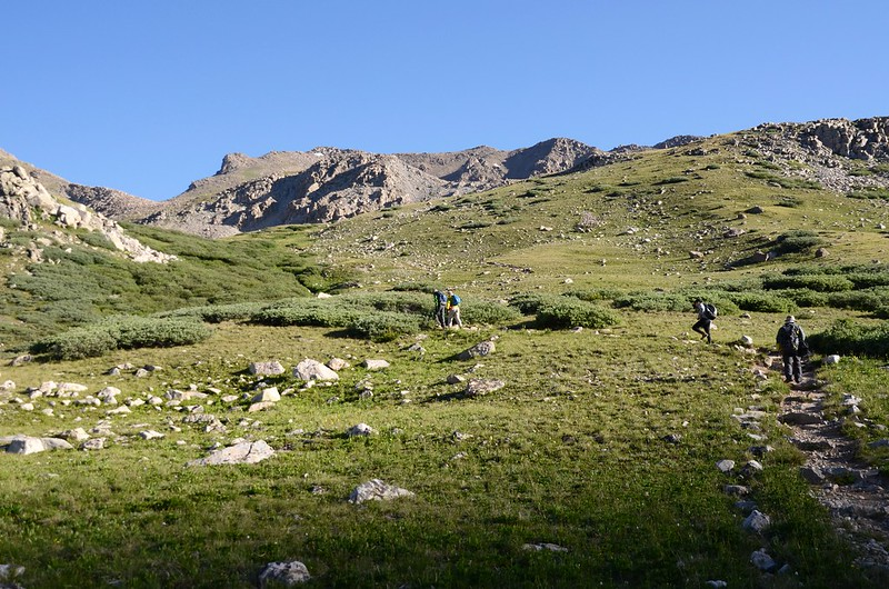 Mount Harvard Trail (the top of Horn Fork Basin to Bear Lake junction) (10)