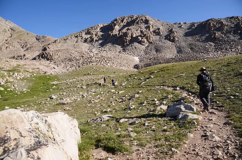 Mount Harvard Trail (Bear Lake junction to the flat shoulder) (3)