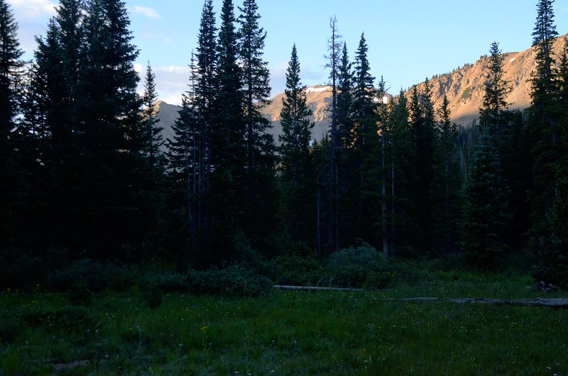 Morning light on the mountains (2)