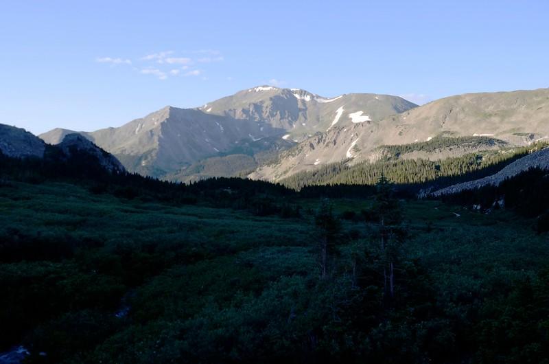 Morning light on Mount Yale, taken from Horn Fork Basin (8)