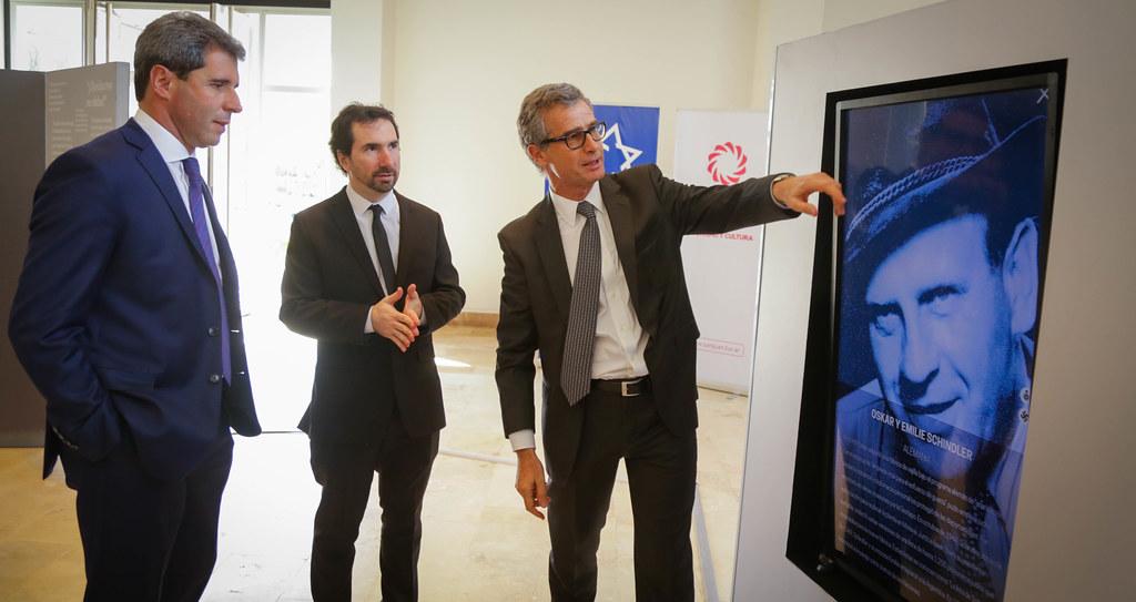"""2019-08-23 PRENSA: Acto de Inauguración de la Exposición Itinerante """"Reflexiones sobre el Shoá"""""""