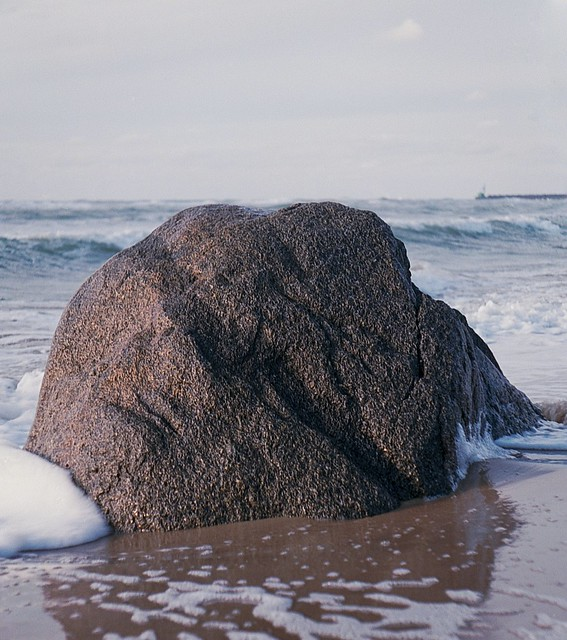 Rock at the beach