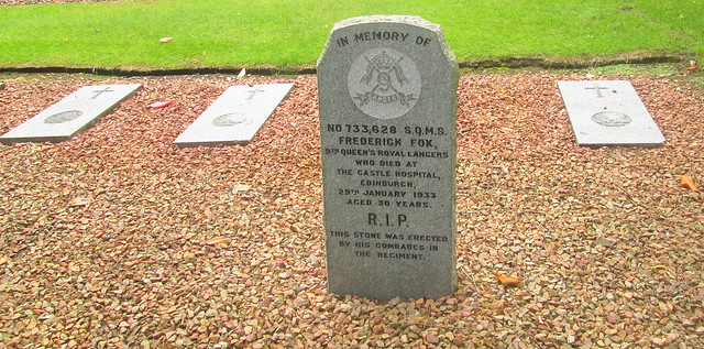 Member of Regiment Memorial, Comely Bank Cemetery, Edinburgh