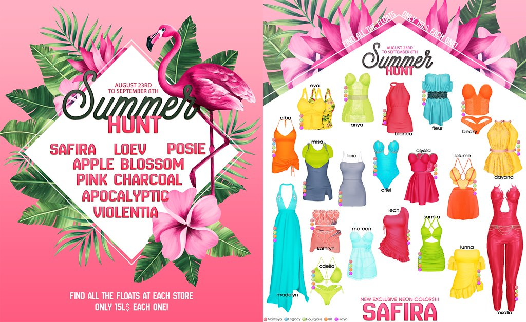 Summer Hunt at Safira Sim