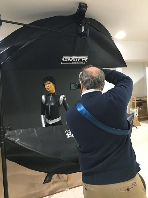 Space Ladies behind the scenes