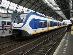 NS Sprinter Lighttrain unit 2634 at Amsterdam Centraal