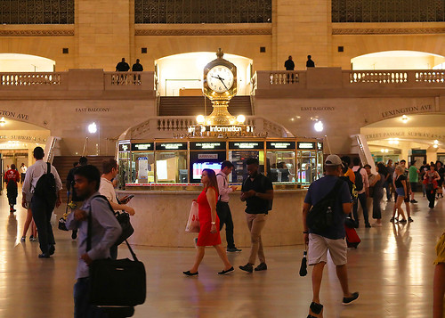NYC Metro North Grand Central Terminal Aug 21-22 2019