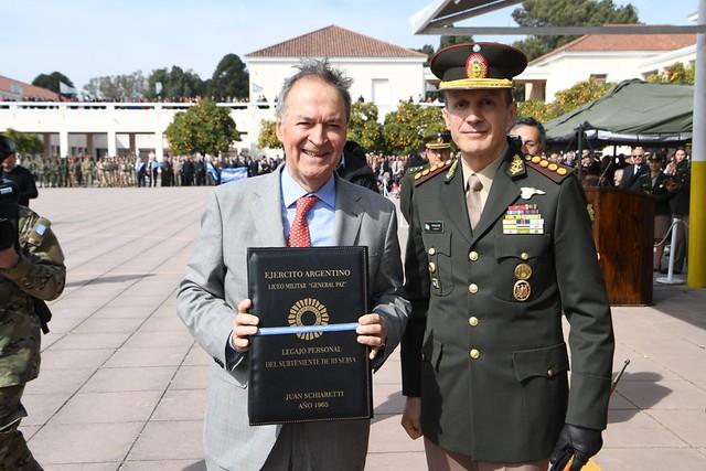 El Liceo Militar General Paz festejó su 75 aniversario