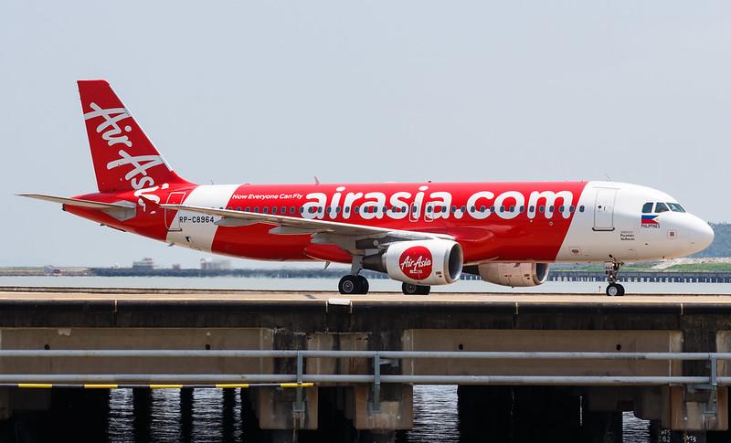 Philippines AirAsia A320-216 RP-C8964 001