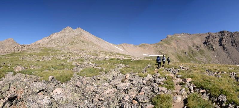 Mount Harvard Trail (the steep slope below Mt. Harvard's south ridge) (4)