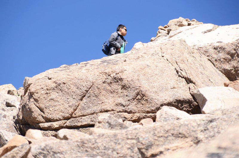 Mount Harvard Trail (the south ridge to the summit) (21)