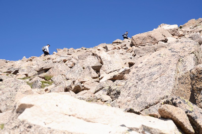 Mount Harvard Trail (the south ridge to the summit) (20)