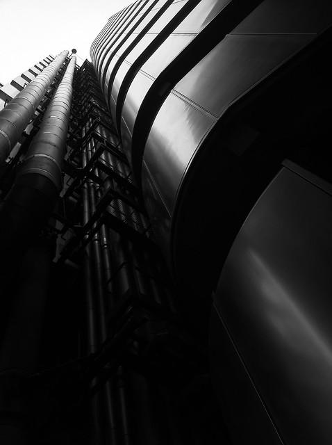 Lloyds Building - beautiful in black