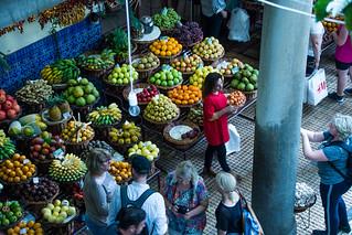 2019 Funchal Market Shopping