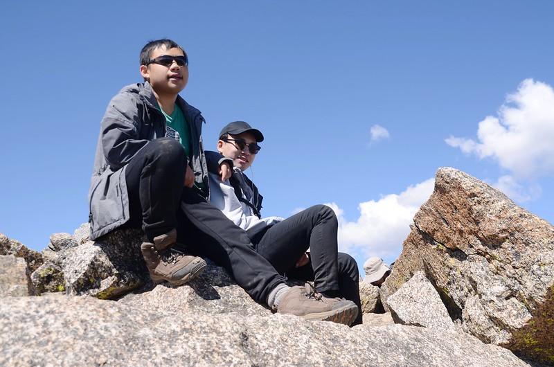 Taken from the summit of Mount Harvard (1)