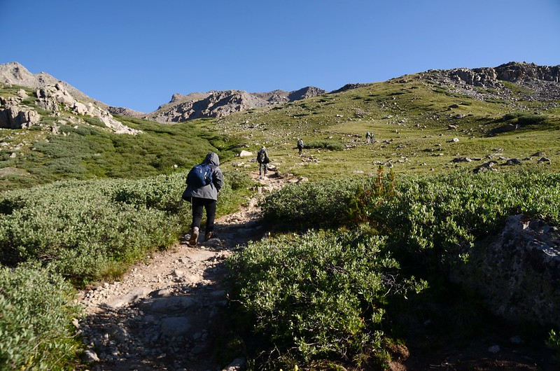 Mount Harvard Trail (the top of Horn Fork Basin to Bear Lake junction) (12)