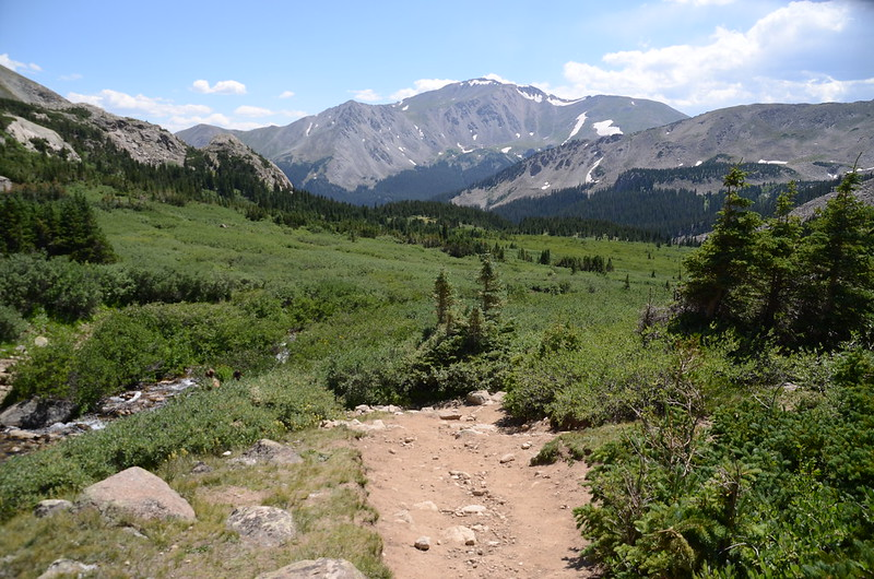 Mount Yale from Horn Fork Basin (1)