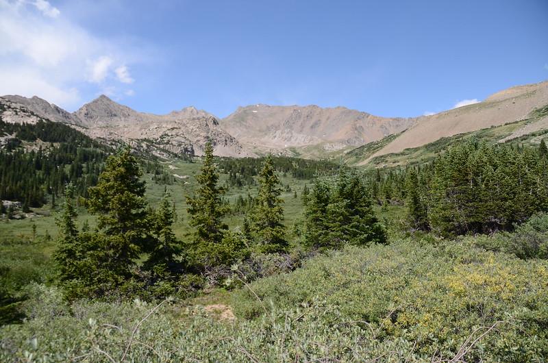 Mount Harvard from Horn Fork Basin (4)