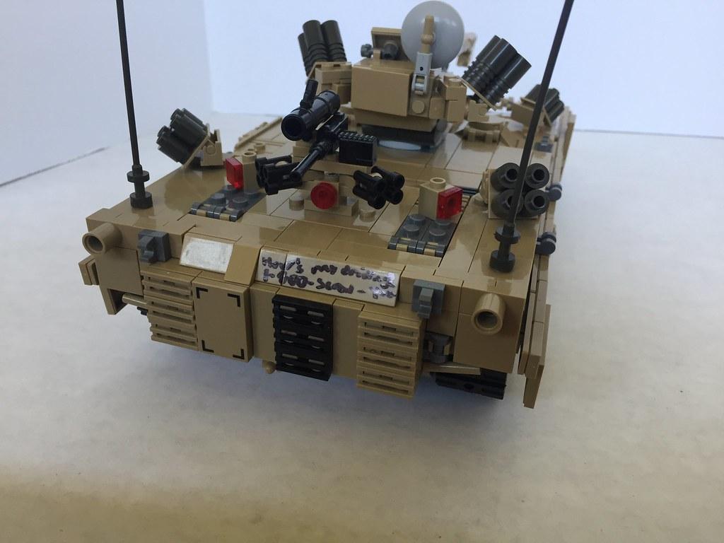 M1A4 SEPV5 Rear