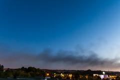 Jupiter vs. Antares in Smoke / @ 18 mm / 2019-08-23