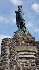Mariabeeld toren Esch-sur-Sûre