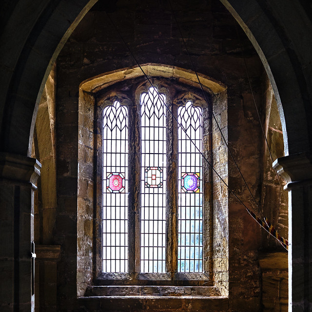 Church Interior - St Oswald's, Farnham, N Yorkshire.
