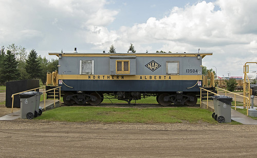 nar alberta ab caboose hack freight campground trains train trainspotting northernalbertarailway northern railway railroad railfan rail railfanning canadian canada