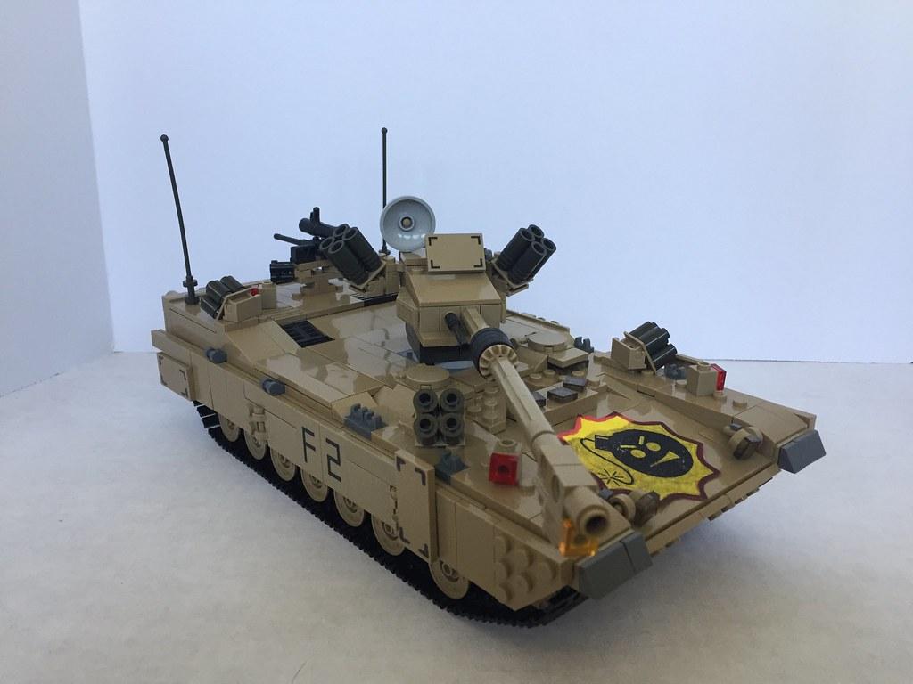 M1A4 SEPV5 Exterior