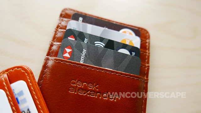 Derek Alexander credit card-ID holder