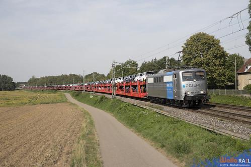 151 062 . DB Cargo . 49566 . Übach-Palenberg . 23.08.19.