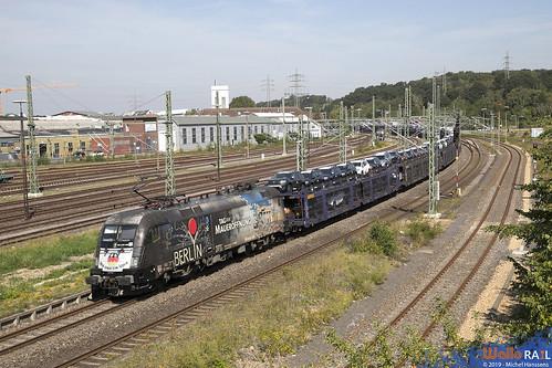 ES 64 U2 060 . Crossrail . 42596 . Herzogenrath . 23.08.19.