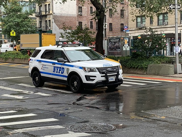 New York Police Department Ford Police Interceptor Utility