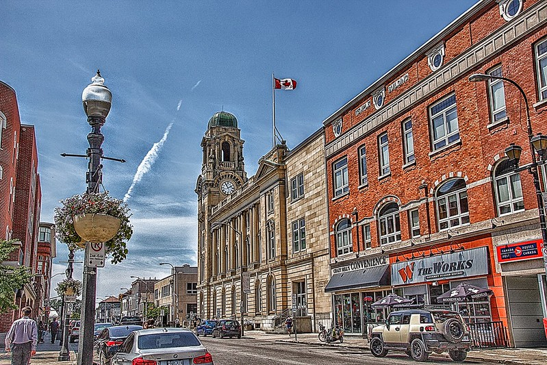 Brantford Ontario - Canada -  The Federal Building - Heritage - Architecture Beaux-Arts