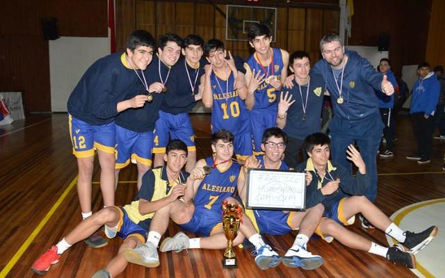 ISV se coronó Tetracampeón del Basquetbol Salesiano 2019