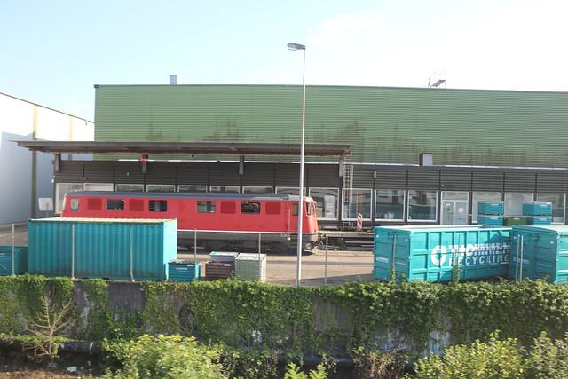 2019-08-18, CFF, Kaiseraugst (Thommen AG), Ae 6/6 11456