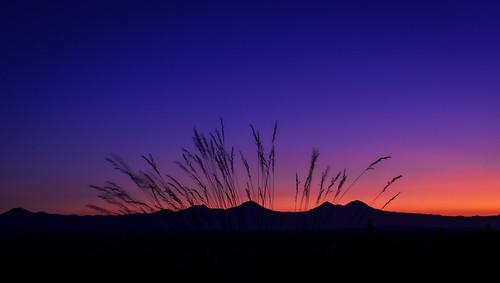 Cascade sunset