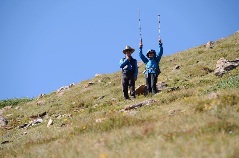 Up to Russell Peak on the Continental Divide Trail (13)