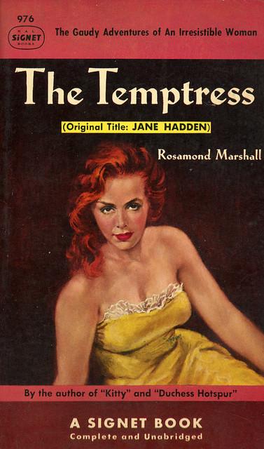 Signet Books 976 - Rosamond Marshall - The Temptress