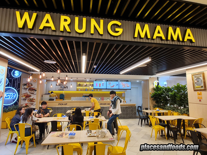 taste of paradigm mall warung mama