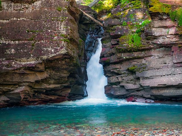 South Mineral Creek Falls