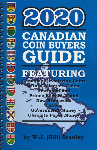 2020_Stanley Canadian Coin Buyers Guide cover