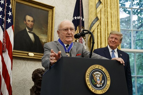 Bob Cousey Medal of Freedom 2