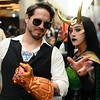 Infinity Gauntlet wielding Tony Stark with Loki at Silicon Valley Comic-Con on Saturday! More pics from SVCC at flic.kr/s/aHsmGiBKAX #svcc #svcc2019 #marvel #marvelcomics #cosplay #marvelcosplay #tonystark #tonystarkcosplay #loki #lokicosplay #infinitygau
