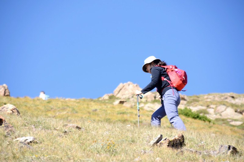 Up to Russell Peak on the Continental Divide Trail (20)