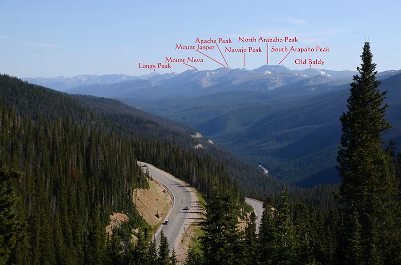 Looking north at mountains from Berthoud Pass (2)