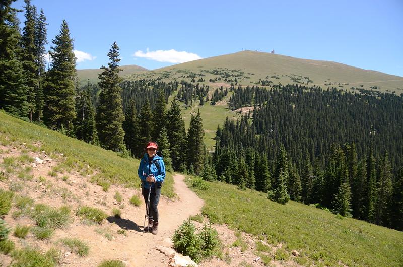 Looking east at Colorado Mines Peak from Russell Peak Trail (3)
